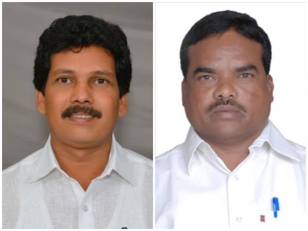 Kidari Sarveswara Rao, left, and Siveri Soma (File photo)