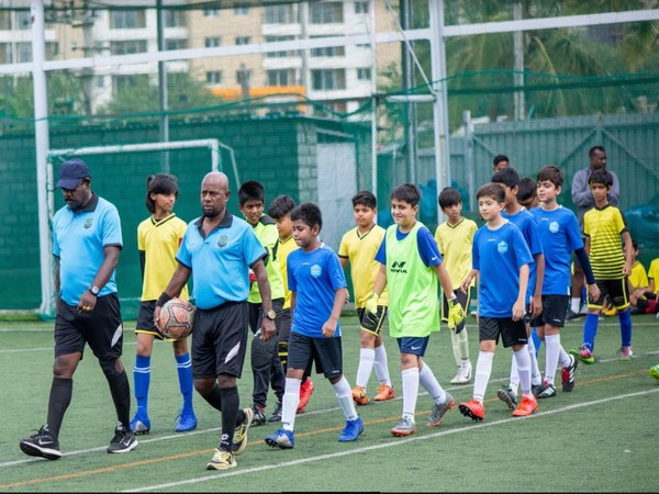 Kids participating in Bengaluru's Double Pass Development Golden Baby League (Photo/ AIFF)