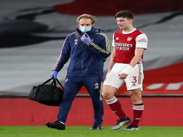 Arsenal defender Kieran Tierney (Photo/ Arsenal Twitter)