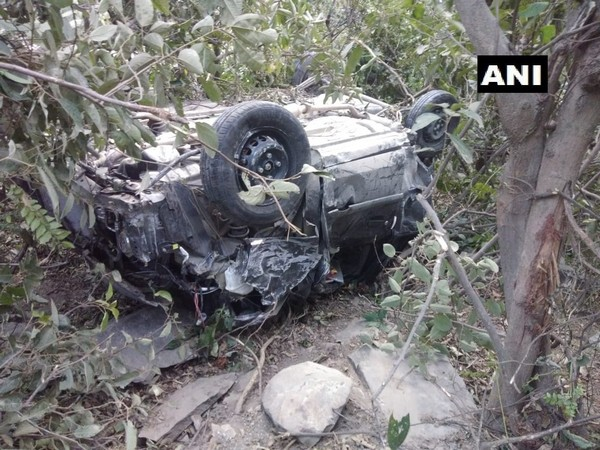 The visual from the accident. (Photo/ANI)
