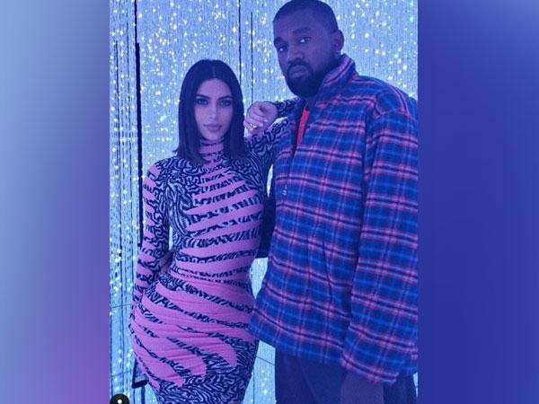 Kim Kardashian  and Husband Kanye West (Image courtesy: Instagram)
