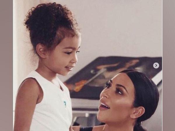 North West and Kim Kardashian West, image courtesy, Instagram