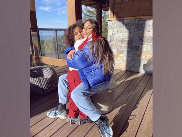 Kim Kardashian and Saint West (Image courtesy: Instagram)