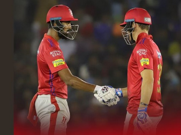 Kings XI Punjab batsmen KL Rahul (left) and David Miller (right) (Courtesy- Kings XI Punjab Twitter)