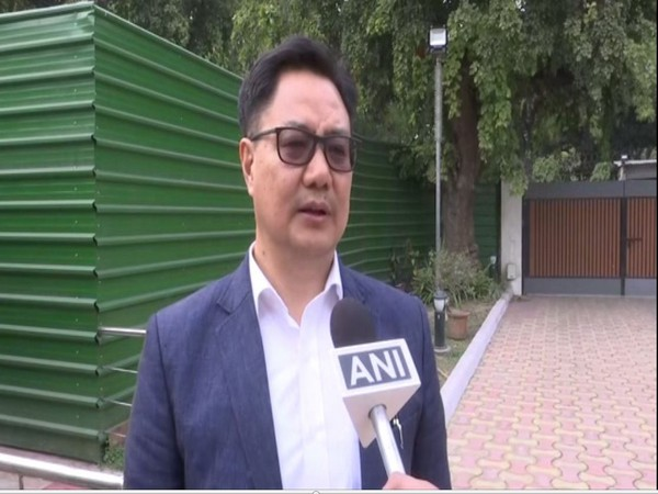 Union Sports and Youth Affairs Minister Kiren Rijiju