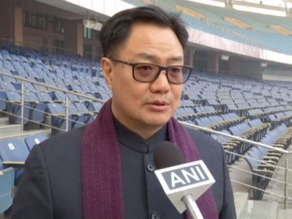 Union Minister of Sports and Youth Affairs Kiren Rijiju