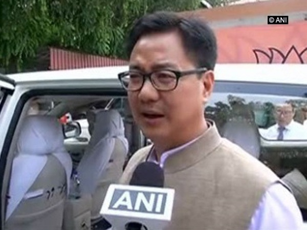 Kiren Rijiju, Union Minister for Youth Affairs and Sports (file photo)