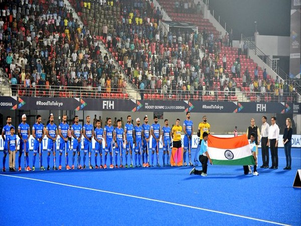 Indian hockey team. (Photo/Kiren Rijiju Twitter)