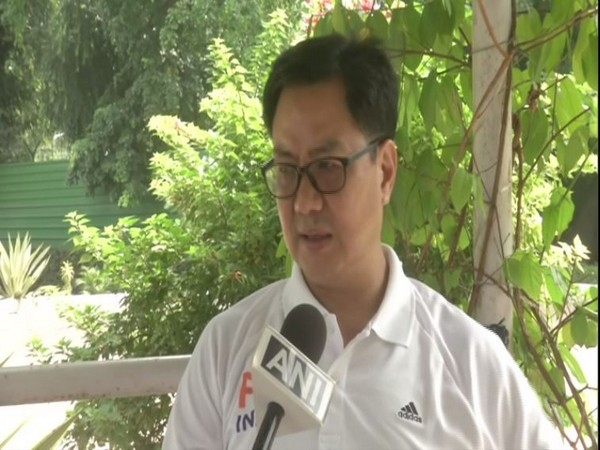 Union Sports and Youth Affairs Minister Kiren Rijiju
