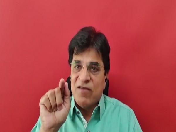 Maharashtra BJP vice president Kirit Somaiya [Photo/ANI]