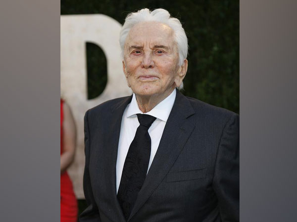 Veteran actor Kirk Douglas