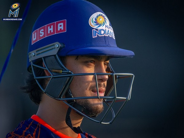 Wicket-keeper batsman Ishan Kishan (Photo/ Mumbai Indians Twitter)