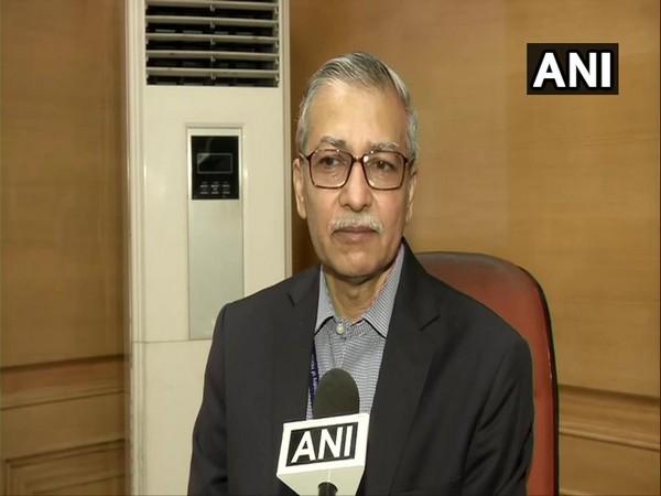 Medical Director (MD), Lok Nayak Hospital, Dr Kishore Singh in New Delhi on Sunday. Photo/ANI