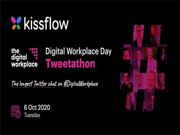 Kissflow joins the Digital Workplace Day Tweetathon as a Platinum partner