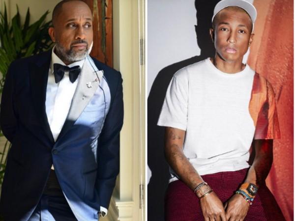 Kenya Barris and  Pharrell Williams (Image source: Instagram)