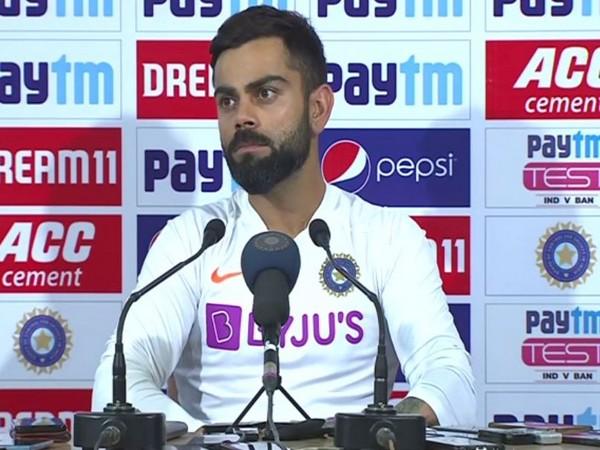 India skipper Virat Kohli during the post-match press conference here on Sunday.