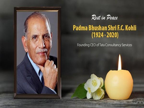 Past Chairman of NASSCOM, FC Kohli passed away