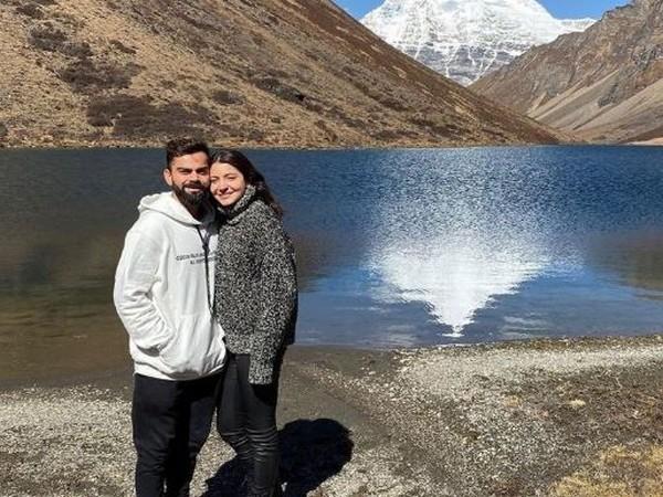 India skipper Virat Kohli with wife Anushka Sharma (Photo/ Virat Kohli Twitter)