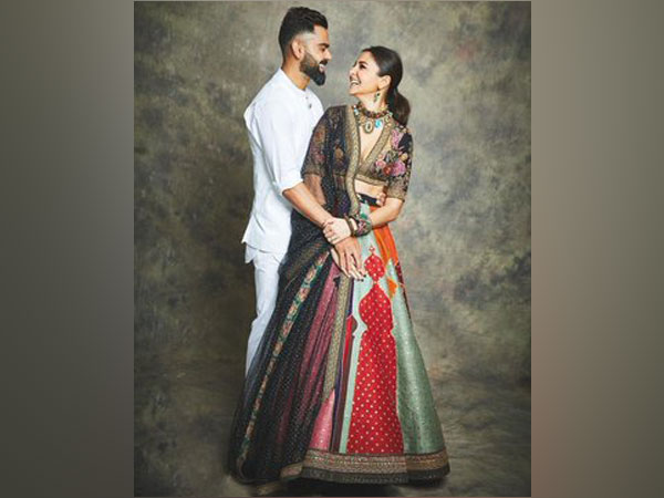 Virat Kohli with his wife Anushka Sharma (Image courtesy: Twitter)