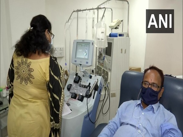 People donating blood as AMRI launches unique drive on World Blood Donor Day. (Photo/ANI)