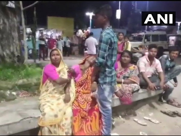 Relatives mourning the killing of TMC worker Ajijar Rahaman in Cooch Behar, West Bengal