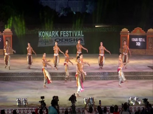 The 31st Konark Dance Festival began on December 1 at Konark in Odisha [Photo/ANI]