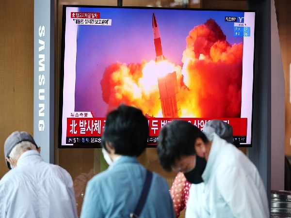 North Korea firing ballistic missiles. (Photo Credit - Reuters)