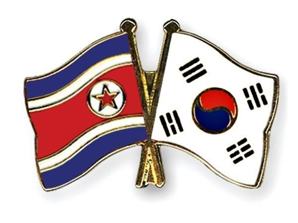 Flags of North Korea, South Korea (representative image)