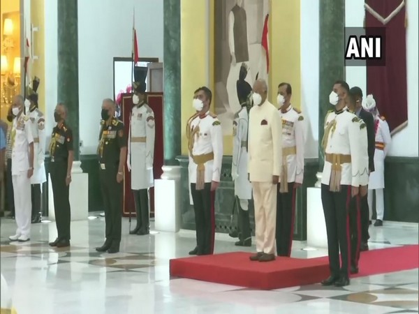 President Ram Nath Kovind hosted 'At Home' reception on Independence Day in Delhi. (Photo/ANI)