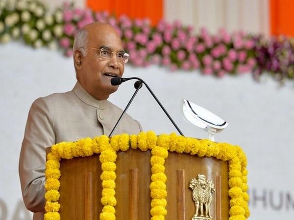 President Ram Nath Kovind. (File Photo/ANI)