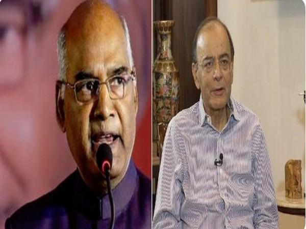 President Ram Nath Kovind to visit Former Finance Minister Arun Jaitely at AIIMS