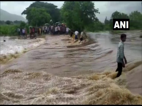 Heavy rainfall created a flood-like situation in several areas of Krishna district following incessant rain since Monday night.