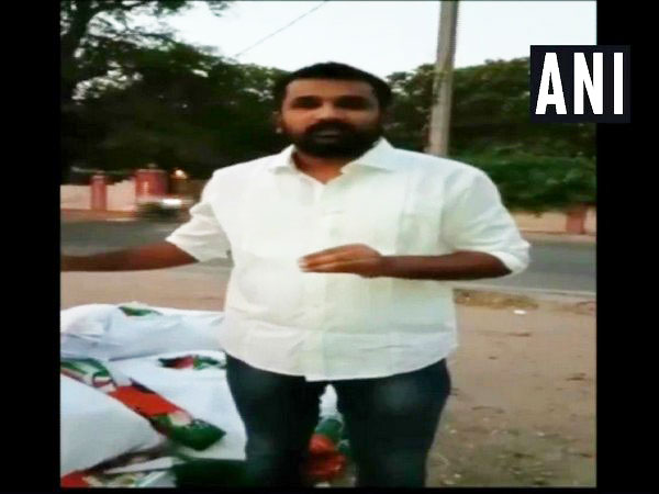 Congress spokesperson Krishank who resigns from the party on Sunday in Hyderabad.