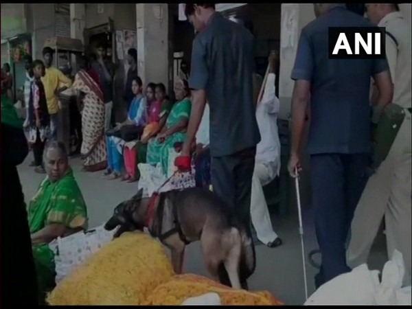 Search operations held at bus stand, toll plaza in Krishna District