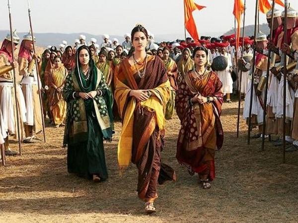 Kriti Sanon as Parvati Bai (Image courtesy: Instagram)
