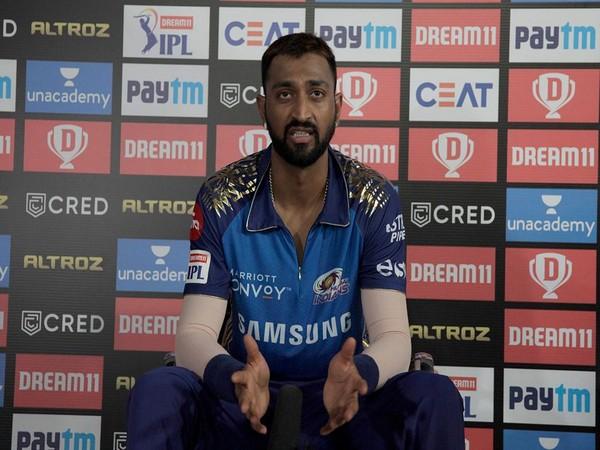 Mumbai Indians all-rounder Krunal Pandya (Photo: BCCI/ IPL)