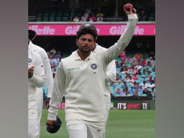 India spinner Kuldeep Yadav (Photo/ BCCI Twitter)