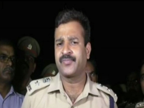 SSP Anand Kulkarni speaking to reporters in Varanasi on Thursday. Photo/ANI
