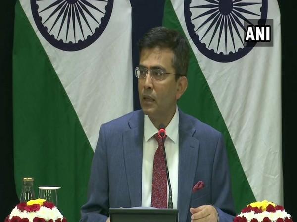 Ministry of External Affairs spokesperson Raveesh Kumar (File pic)