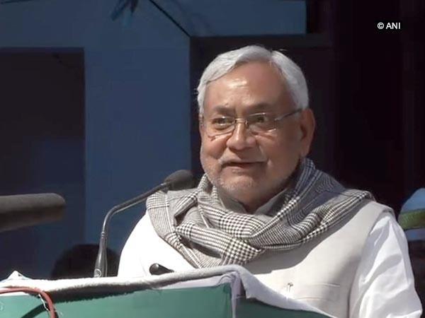 Bihar Chief Minister Nitish Kumar. File Photo/ANI