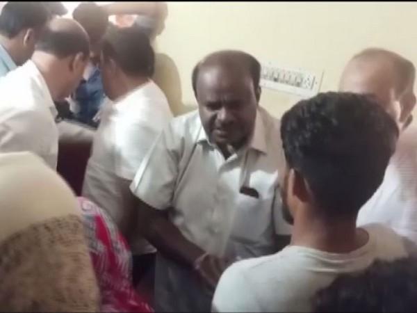 Former Karnataka chief minister HD Kumaraswamy. Photo/ANI