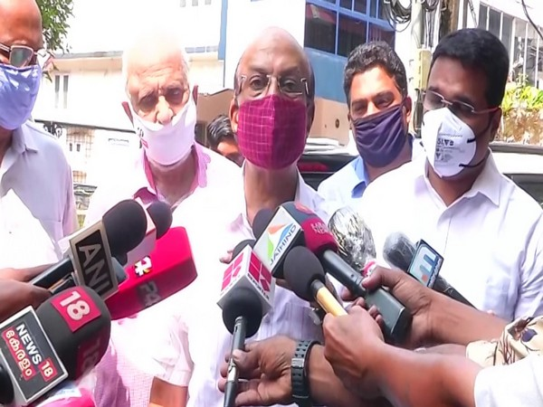 IUML MP PK Kunhalikutty speaking to reporters in Kochi on Wednesday. Photo/ANI