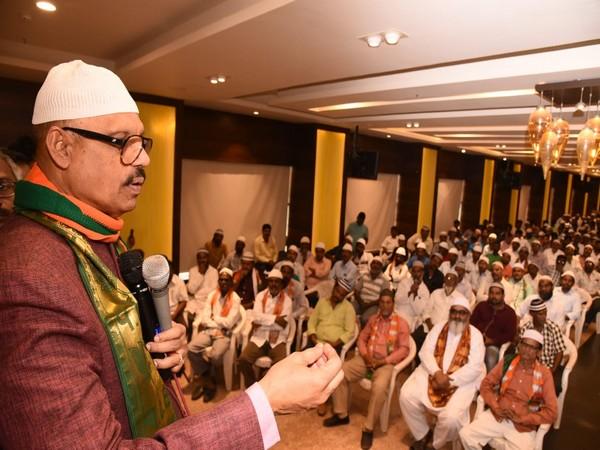 TG Venkatesh addressing the BJP's membership programme.
