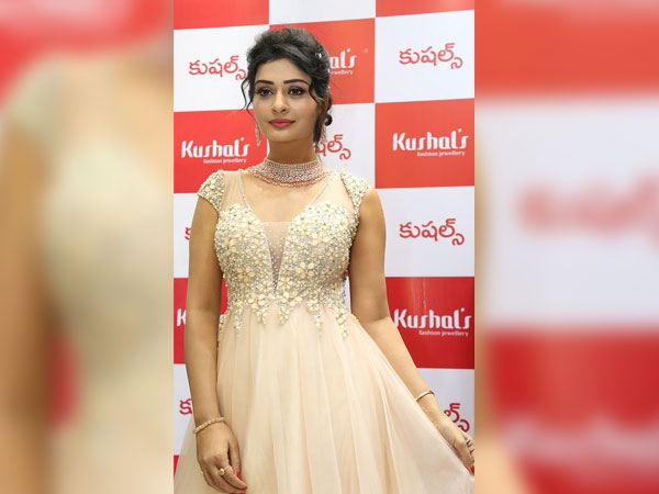 Tollywood actress Payal Rajput inaugurates Kushal's Fashion Jewellery Flagship Store at Jubilee Hills, Hyderabad