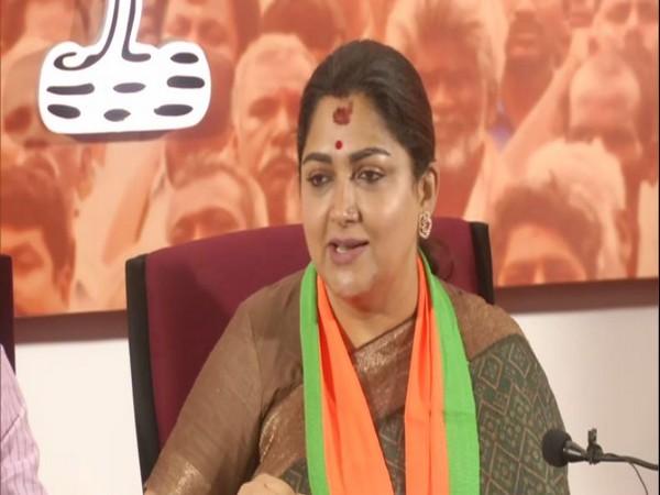 BJP leader Khushbu Sundar [File photo]