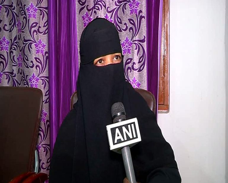 Naseem Begum, mother of the victim speaking to ANI in Hyderabad, Telangana on Tuesday.