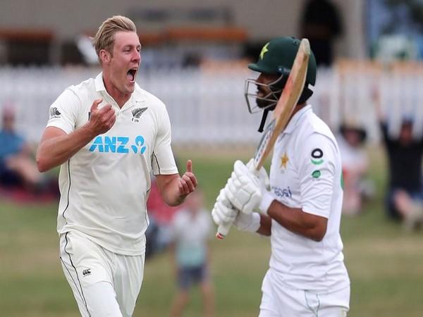 New Zealand fast bowler Kyle Jamieson (Photo: ICC twitter)