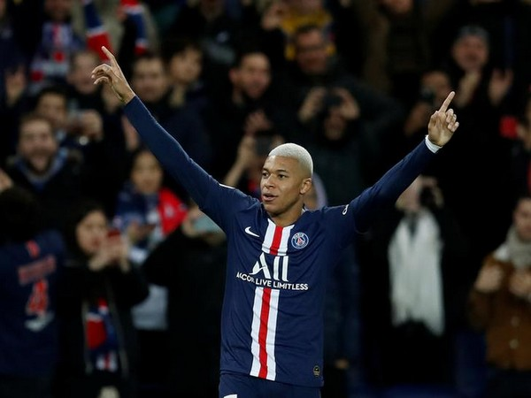 PSG's Kylian Mbappe.