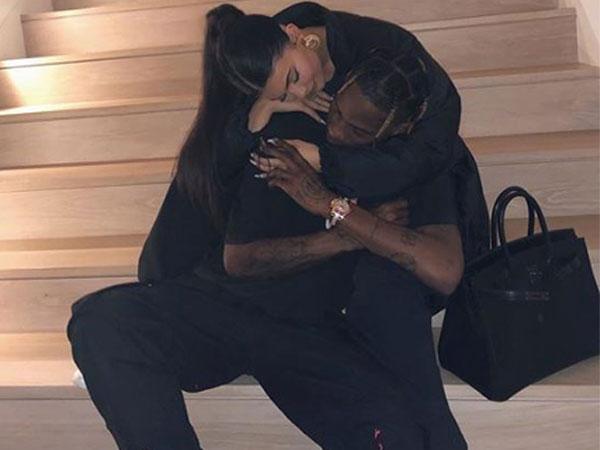 Kylie Jenner with Travis Scott (Image Courtesy: Instagram)