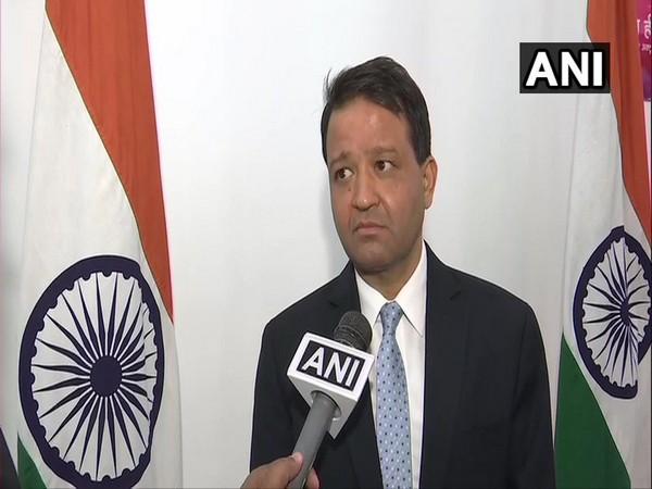Indian Ambassador to Kyrgyzstan, Alok Dimri, speaking to ANI in Bishkek on Thursday.